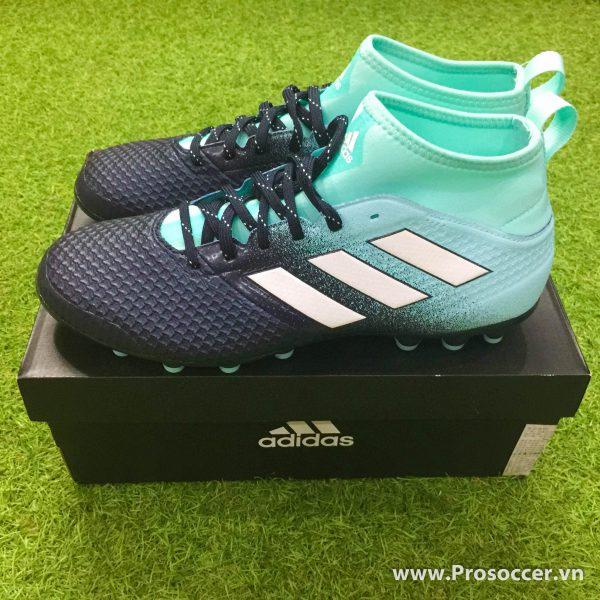 Giay chinh hang Adidas ACE 17 3 mau den xanh nhat dinh AG san co nhan tao (3)