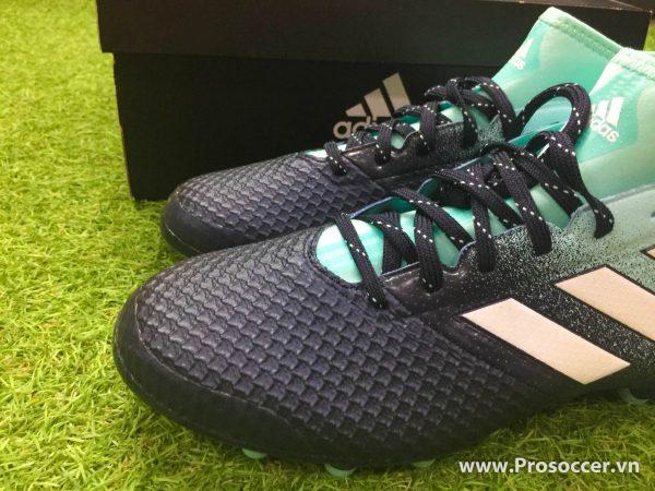 Giay chinh hang Adidas ACE 17 3 mau den xanh nhat dinh AG san co nhan tao (5)