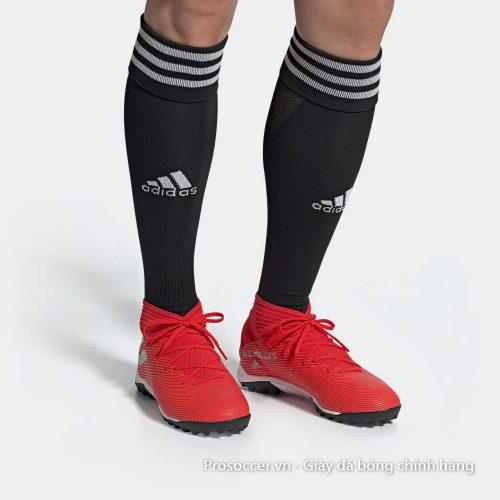 Giay da banh Adidas Nemeziz 19.3 TF do vach bac co cao (3)