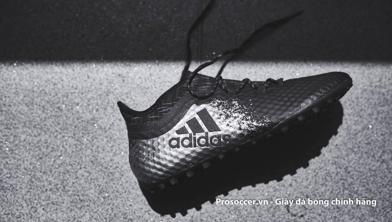 Adidas X16.1 TF Cage rất hot trên sân phủi không chuyên với thiết kế thon gọn, da mềm và đinh giày bám sân