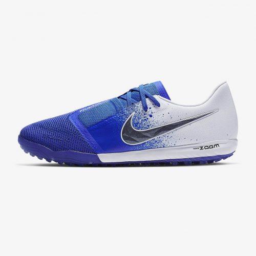 Giay da banh chinh hang Nike Phantom VNM zoom Pro TF xanh duong trang (2)