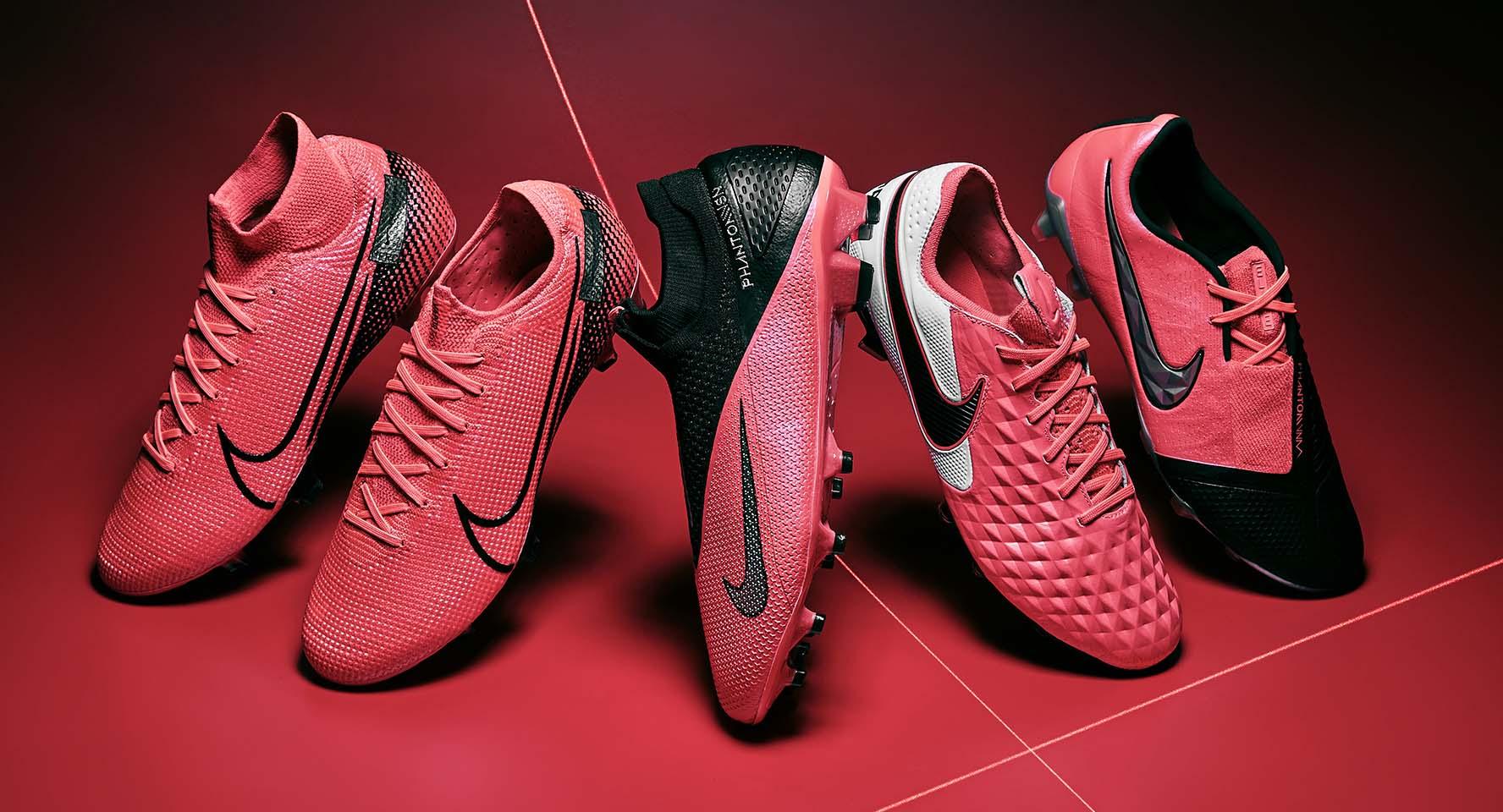 Các dòng giày đá bóng Nike chính hãng được các cầu thủ chuyên nghiệp sử dụng
