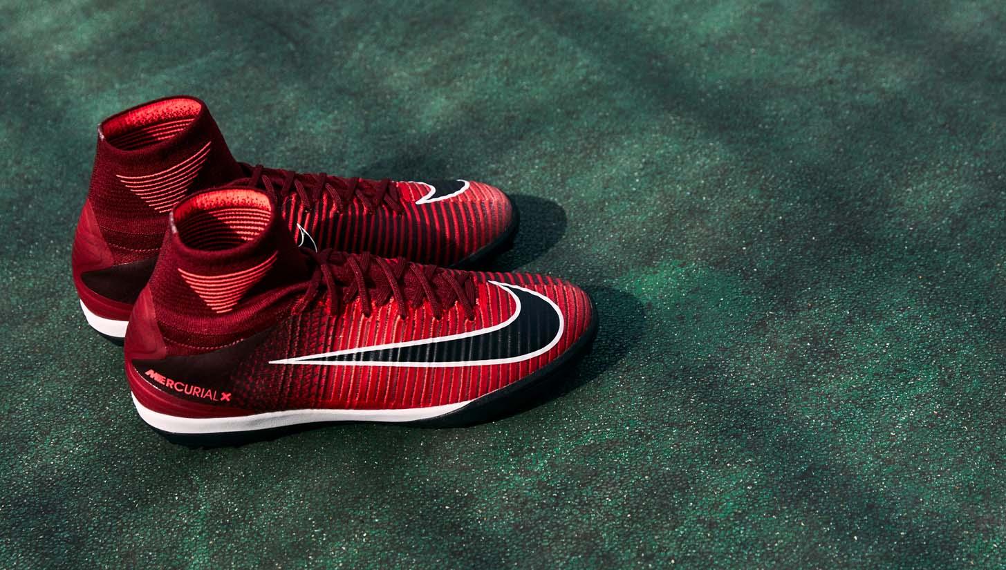 Giày đá banh Nike cao cổ Mercurial Superfly sân cỏ nhân tạo