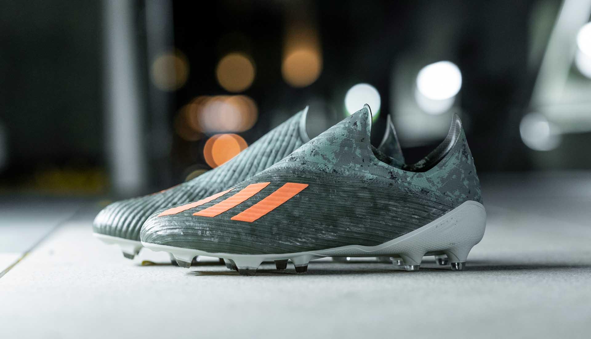 Giày đá bóng chính hãng Adidas X19+ FG Encryption Code pack màu rằn ri camo