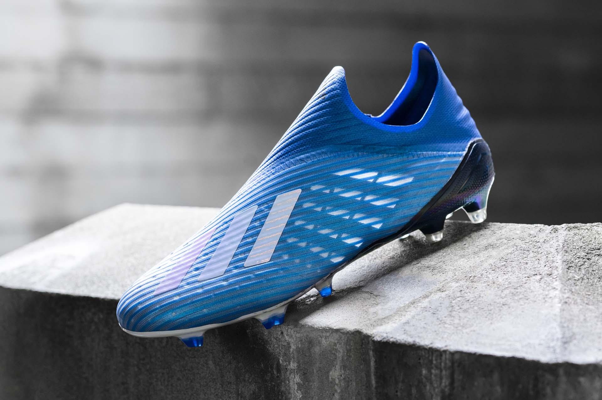 Adidas X19+ FG Mutator pack chắc là gam màu cuối cùng của dòng giày không dây này