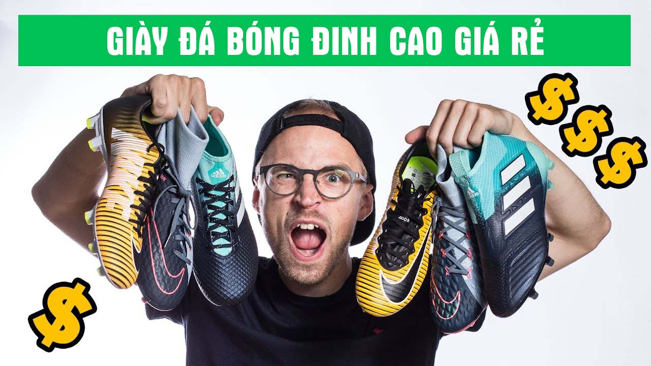 Địa chỉ mua bán giày đá bóng chính hãng giá rẻ tại Hà Nội