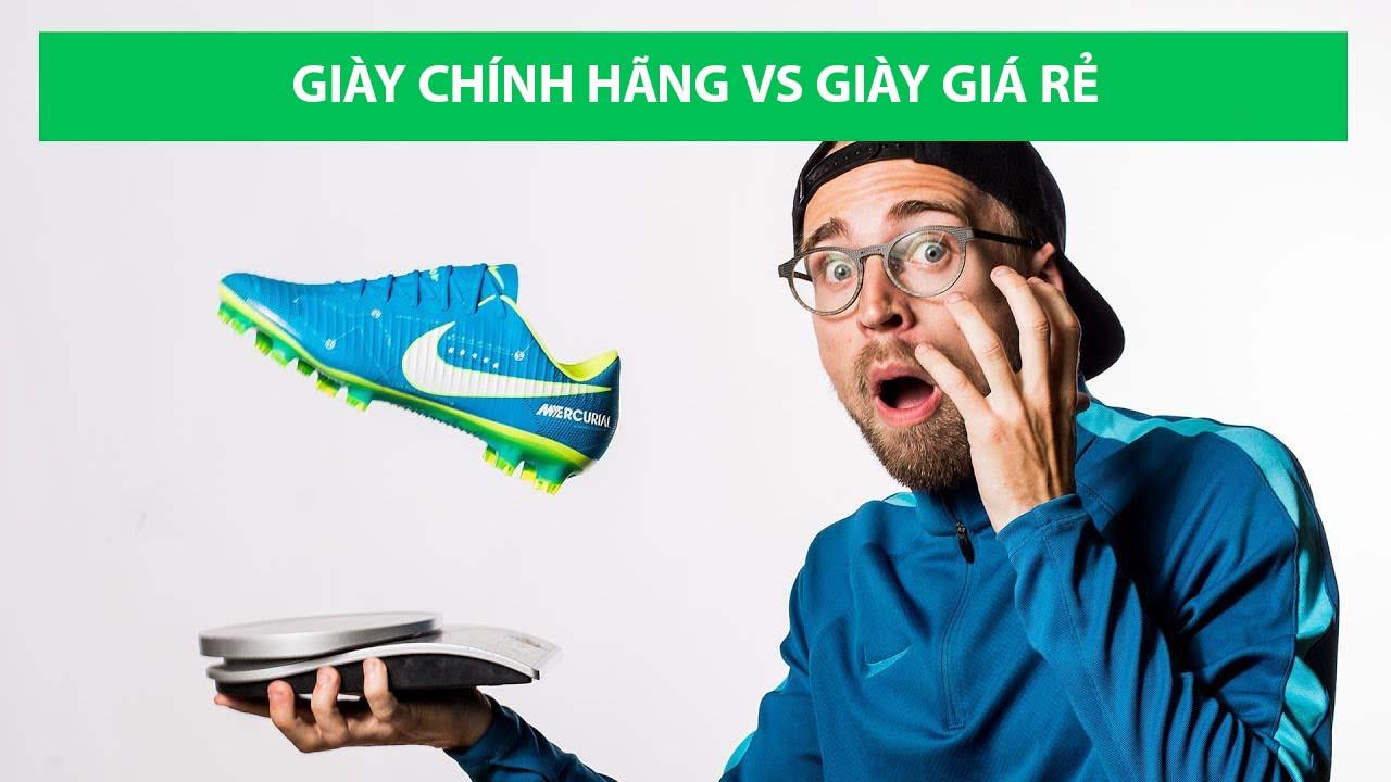 Mua giày bóng đá chính hãng chất lượng có rất nhiều lợi ích
