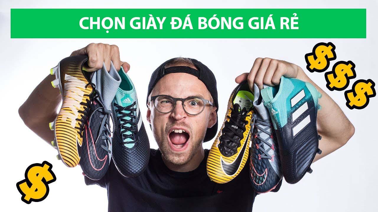 Giày bóng đá chính hãng giá rẻ nhiều khi chỉ đắt hơn giày fake một ít