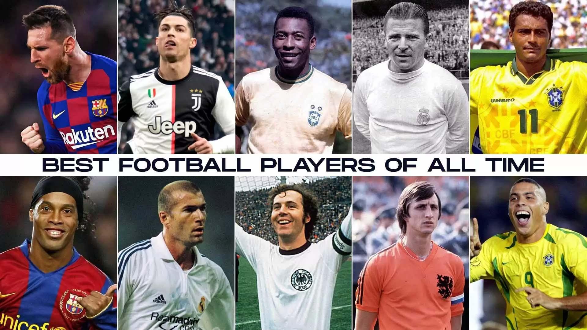 Ronaldo và Messi lọt vào top 10 cầu thủ bóng đá vĩ đại nhất mọi thời đại tính đến năm 2020