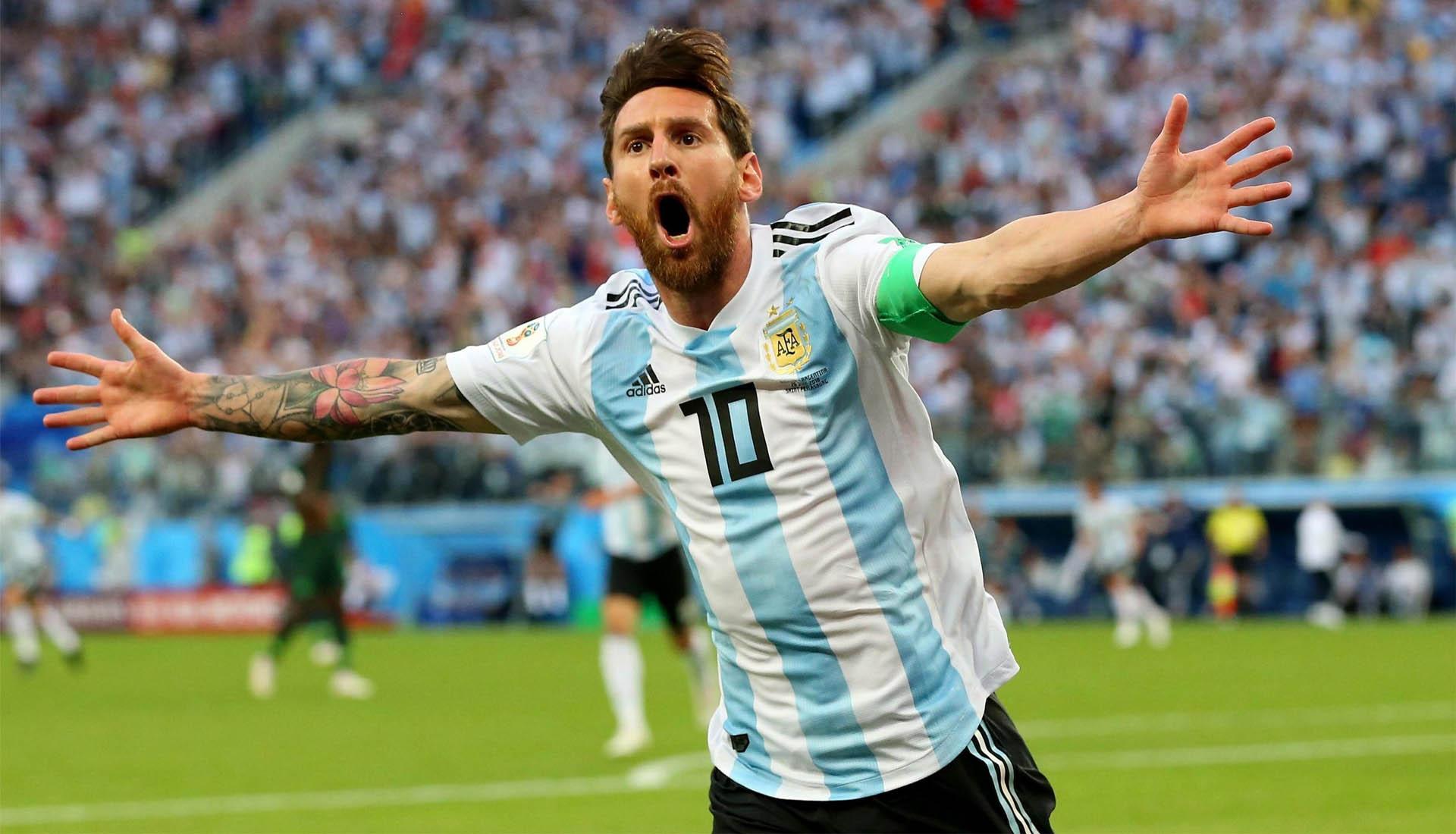Messi đã sẽ là huyền thoại mới của bóng đá Argentina với những thành tính tuyệt vời
