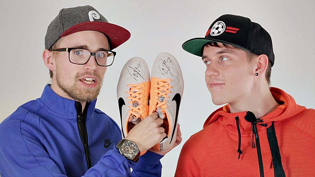 Chọn giày đá bóng sân cỏ theo trọng lượng