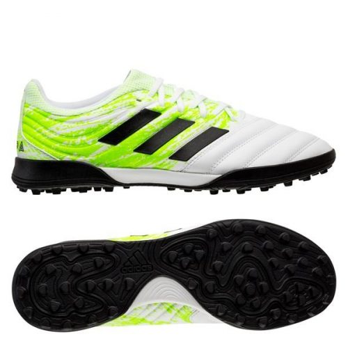 Adidas Copa 20.3 TF Uniforia - Footwear WhiteCore BlackSignal Green (1)