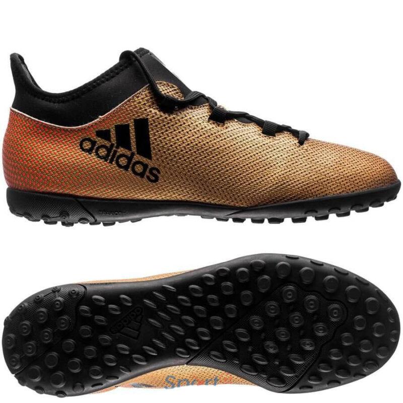Adidas Kids X Tango 17.3 TF – Tactile Gold MetallicCore BlackSolar Red (1)