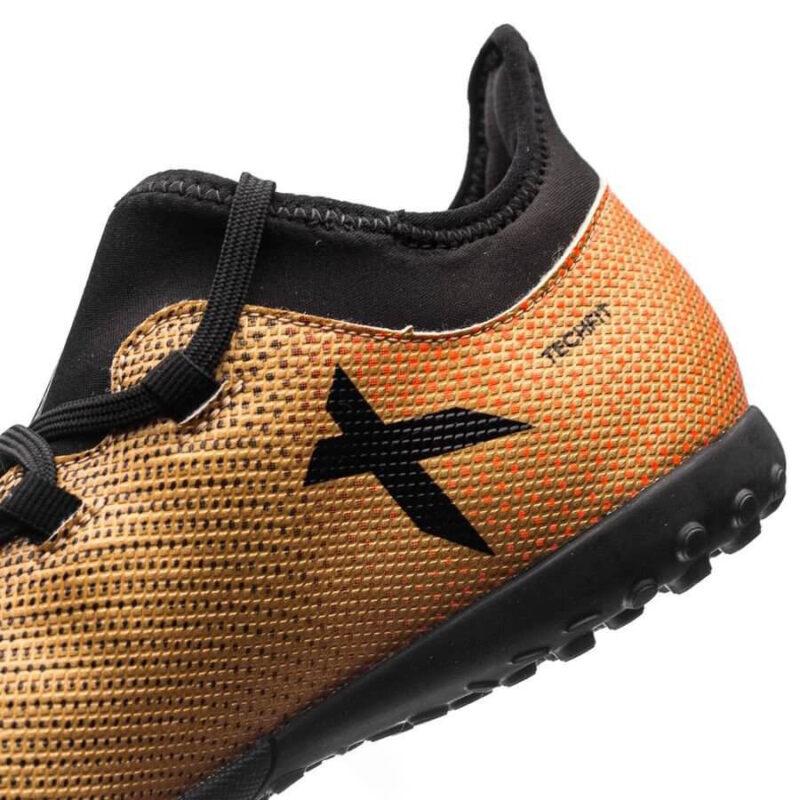Adidas Kids X Tango 17.3 TF – Tactile Gold MetallicCore BlackSolar Red (2)