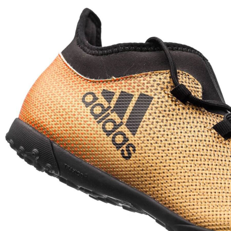 Adidas Kids X Tango 17.3 TF – Tactile Gold MetallicCore BlackSolar Red (3)