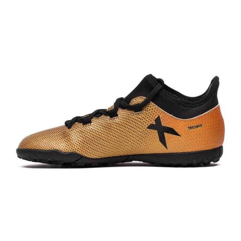 Adidas Kids X Tango 17.3 TF – Tactile Gold MetallicCore BlackSolar Red (9)
