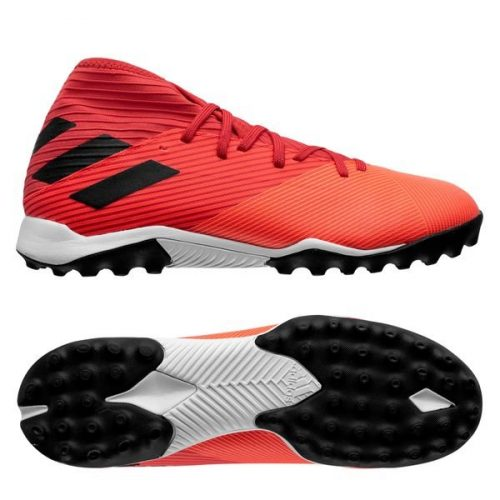 Adidas Nemeziz 19.3 TF Inflight - Signal CoralCore BlackGlory Red (1)