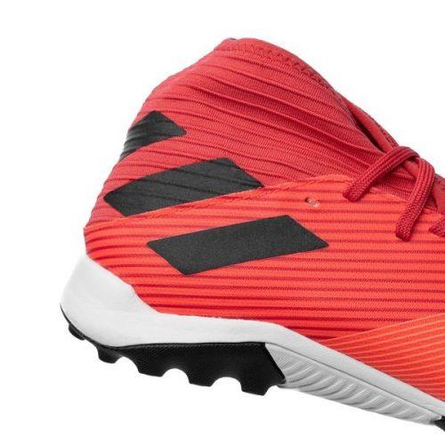 Adidas Nemeziz 19.3 TF Inflight - Signal CoralCore BlackGlory Red (4)