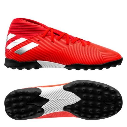 Adidas Nemeziz Tango 19.3 TF 302 Redirect - Action RedSilver Metallic Kids (1)