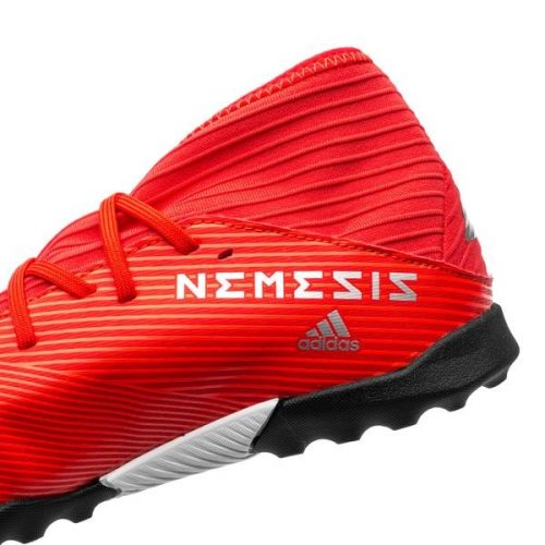 Adidas Nemeziz Tango 19.3 TF 302 Redirect - Action RedSilver Metallic Kids (3)