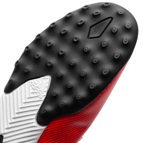 Adidas Nemeziz Tango 19.3 TF 302 Redirect - Action RedSilver Metallic Kids (5)