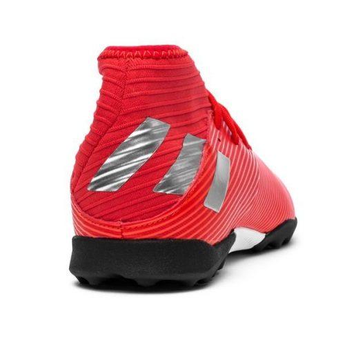 Adidas Nemeziz Tango 19.3 TF 302 Redirect - Action RedSilver Metallic Kids (8)