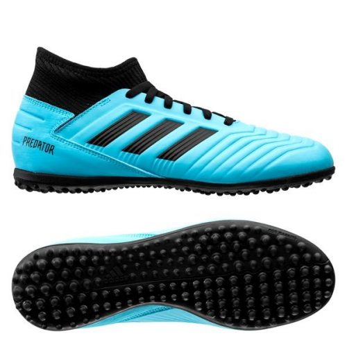 Adidas Predator 19.3 TF Hard Wired - Bright CyanCore Black Kids (1)