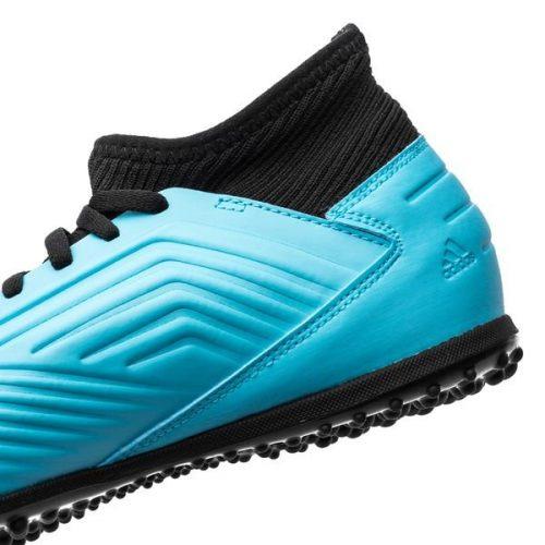 Adidas Predator 19.3 TF Hard Wired - Bright CyanCore Black Kids (3)