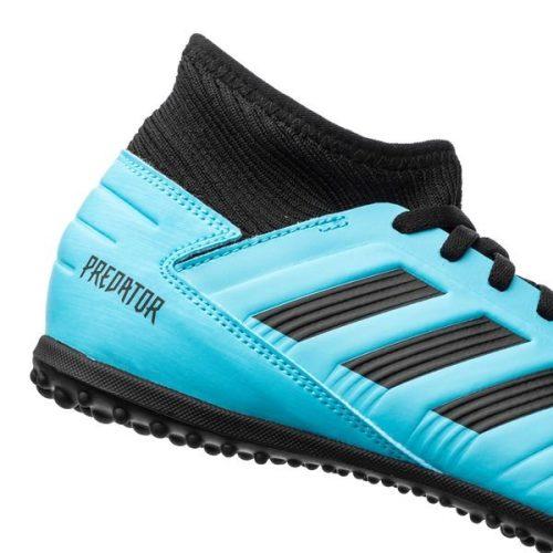 Adidas Predator 19.3 TF Hard Wired - Bright CyanCore Black Kids (4)