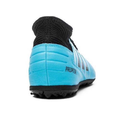 Adidas Predator 19.3 TF Hard Wired - Bright CyanCore Black Kids (8)