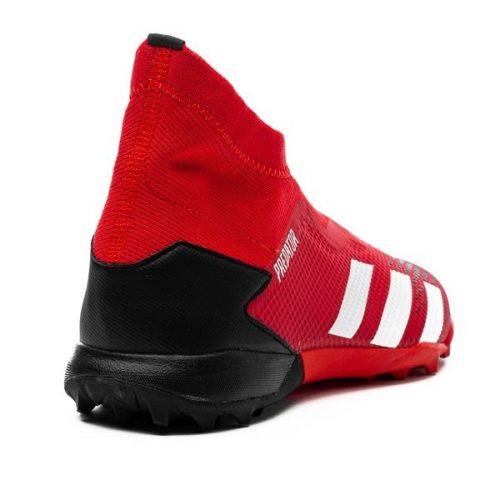 Adidas Predator 20.3 Laceless TF Mutator - Action RedFootwear WhiteCore Black (1)
