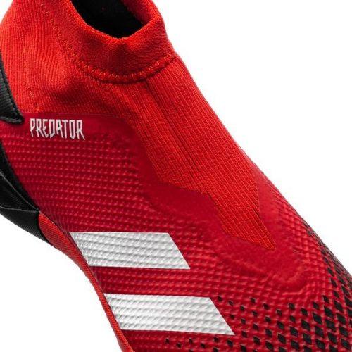 Adidas Predator 20.3 Laceless TF Mutator - Action RedFootwear WhiteCore Black (3)