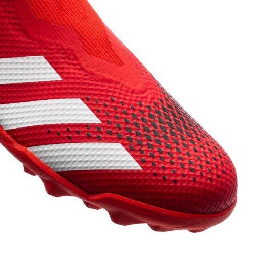Adidas Predator 20.3 Laceless TF Mutator - Action RedFootwear WhiteCore Black (5)