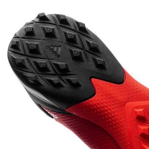 Adidas Predator 20.3 Laceless TF Mutator - Action RedFootwear WhiteCore Black (6)