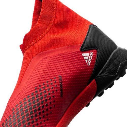 Adidas Predator 20.3 Laceless TF Mutator - Action RedFootwear WhiteCore Black (7)