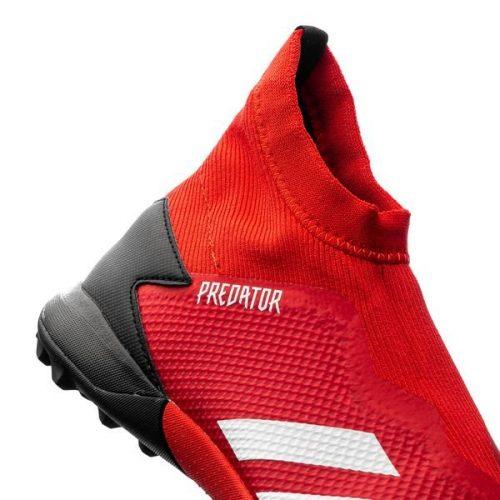 Adidas Predator 20.3 Laceless TF Mutator - Action RedFootwear WhiteCore Black (8)