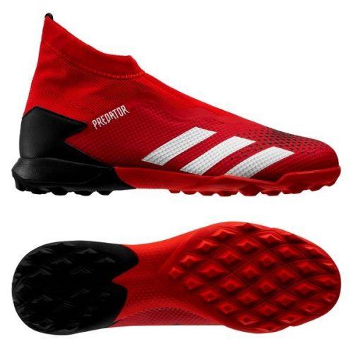 Adidas Predator 20.3 Laceless TF Mutator - Action RedFootwear WhiteCore Black (9)