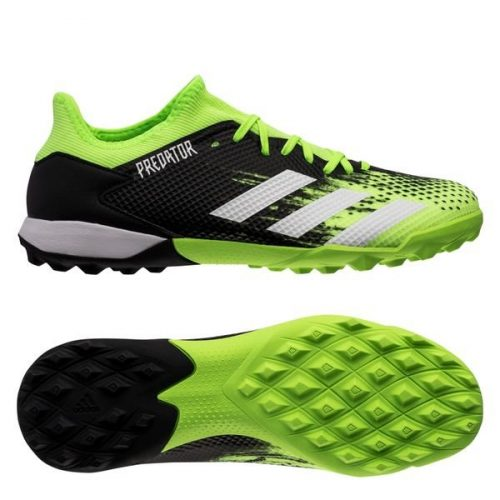 Adidas Predator 20.3 Low TF Precision To Blur - Signal GreenFootwear WhiteCore Black (1)
