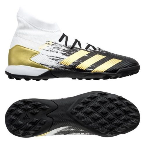 Adidas Predator 20.3 TF Inflight - Footwear WhiteGold MetallicCore Black (1)