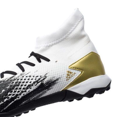 Adidas Predator 20.3 TF Inflight - Footwear WhiteGold MetallicCore Black (3)