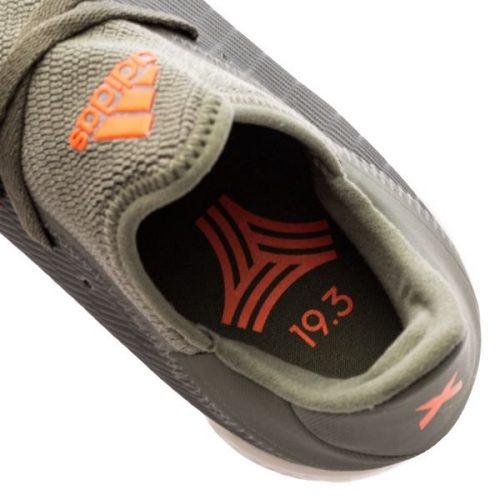 Adidas X 19.3 TF Encryption - Legion GreenSolar OrangeCore White (2)