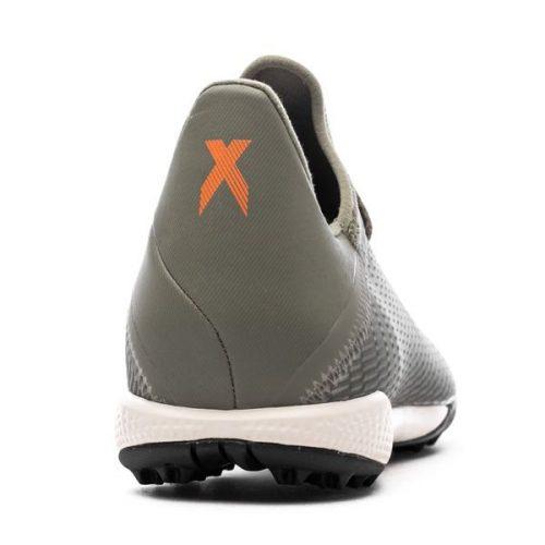 Adidas X 19.3 TF Encryption - Legion GreenSolar OrangeCore White (8)