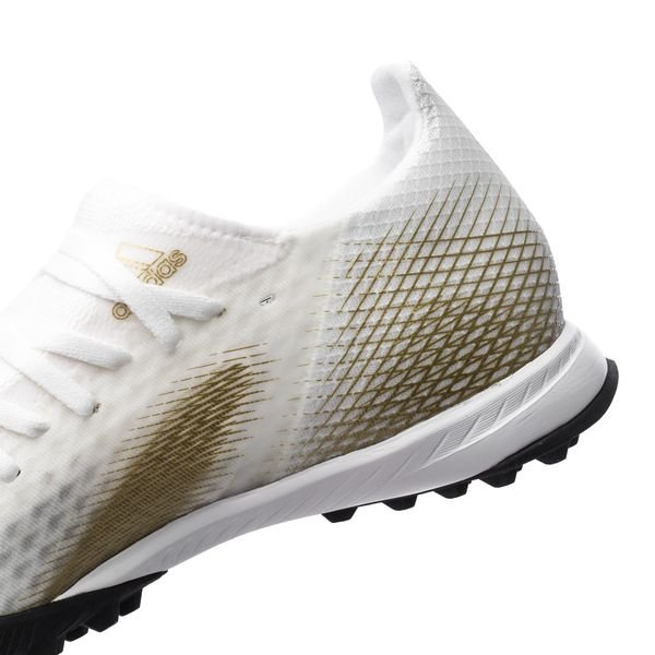 Adidas X Ghosted .3 TF Inflight - Footwear WhiteMetallic GoldCore Black (3)