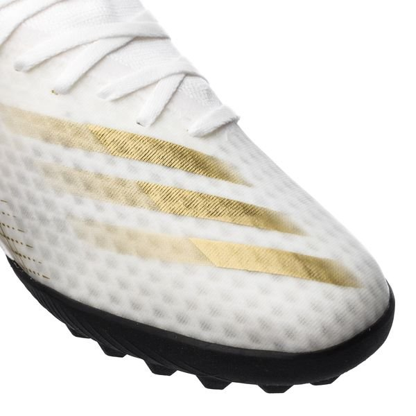 Adidas X Ghosted .3 TF Inflight - Footwear WhiteMetallic GoldCore Black (6)