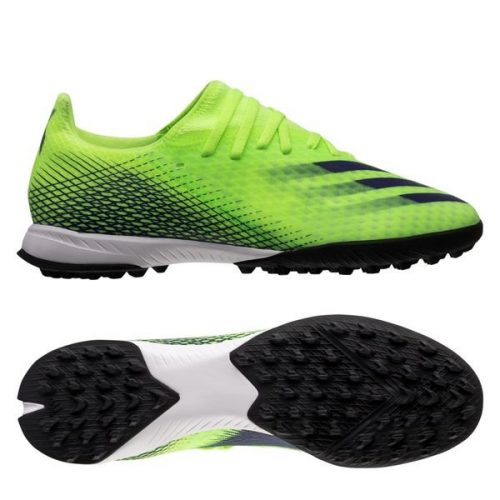 Adidas X Ghosted .3 TF Precision To Blur - Signal GreenEnergy Ink (1)