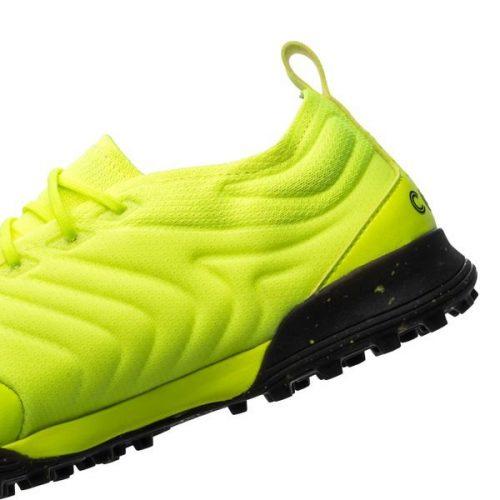 Adidas copa 19.1 tf xanh non chuoi vach den chinh hang da that (9)