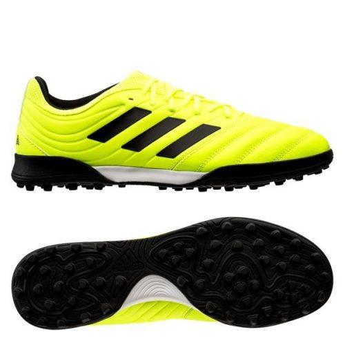 Adidas copa 19.3 tf xanh non chuoi vach den da that chinh hang (4)