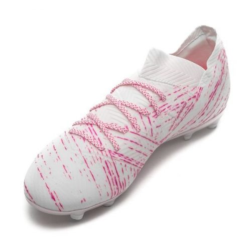 Adidas nemeziz 18.1 fg hong trang da vai chinh hang (2)