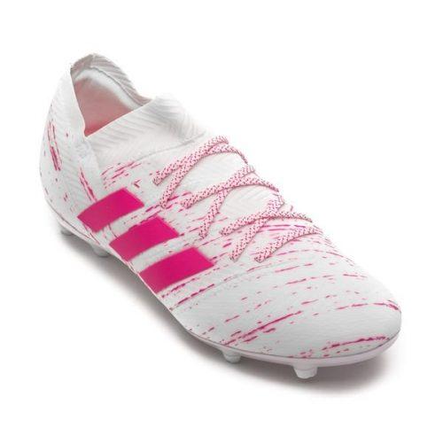Adidas nemeziz 18.1 fg hong trang da vai chinh hang (6)