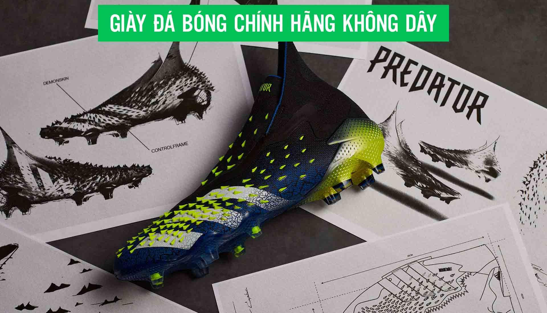 Giay da bong chinh hang khong day cua cau thu